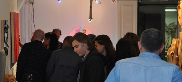 exposición 'Tallers Oberts Bcn', Poblenou. 2014.