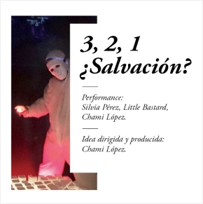 Performance de Chami López , 7 de marzo.2015.
